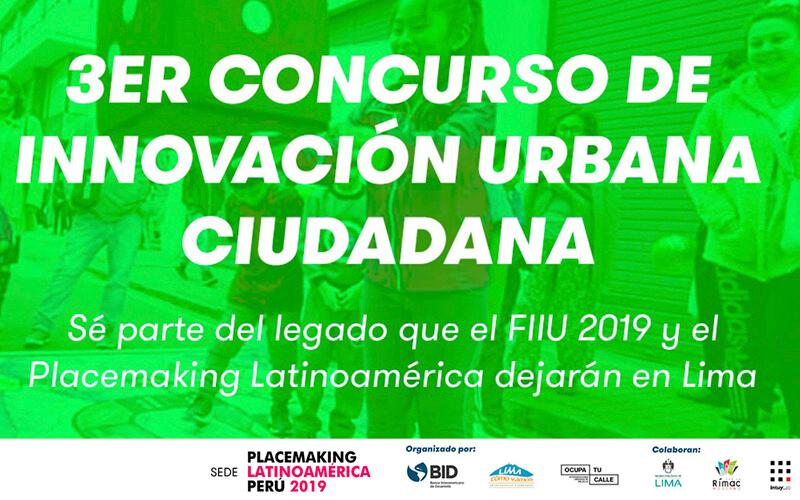 Placemaking Latinoamérica  Perú 2019
