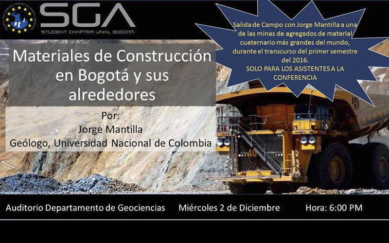 Conferencia materiales de construcci n en bogot y sus for Empresas de construccion en bogota