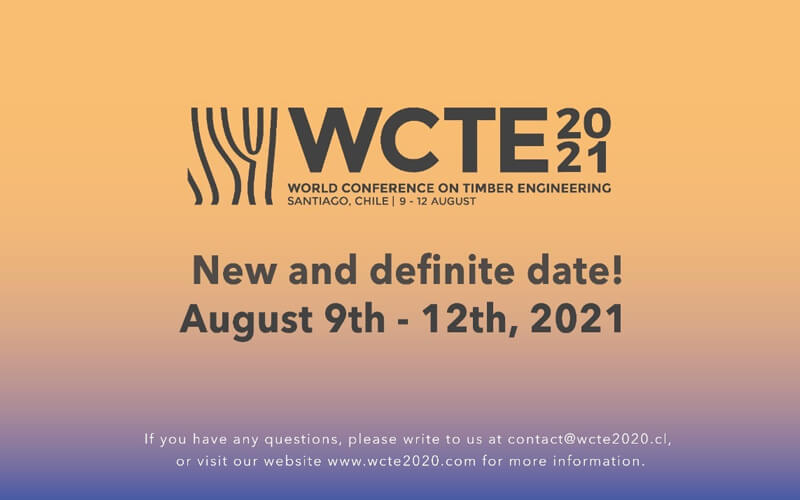 WORLD CONFERENCE ON TIMBER ENGINEERING 2021