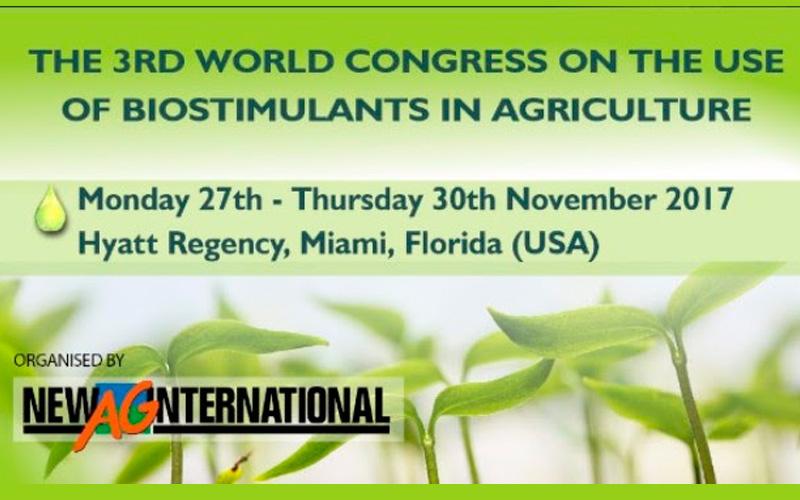 III Congreso Mundial sobre Bioestimulantes Agrícolas