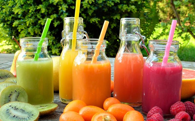 Alimentos colorantes en tendencia